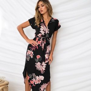 Dresses & Skirts - NEW ARRIVAL Women Fashion Midi Boho Dress 👗